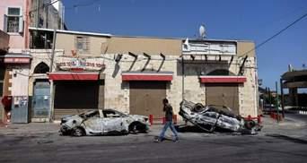 Беспорядки в Израиле: за ночь в городе Лод задержали 43 человека
