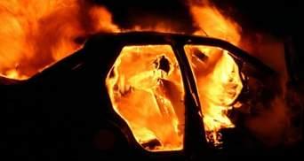 На Запорожье пьяный полицейский устроил ДТП: сгорели 2 авто, есть пострадавший