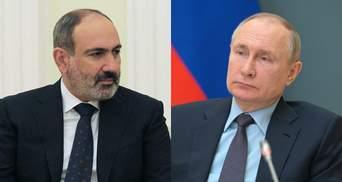 Загострення ситуації на кордоні Вірменії та Азербайджану: Пашинян просить Путіна допомоги
