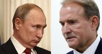 Буде зворотна реакція від Кремля, – Рябошапка про заяву Путіна через Медведчука