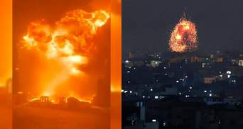 Бойовики ХАМАС вдарили ракетою по порту Ізраїлю: сила вибуху вражає – відео
