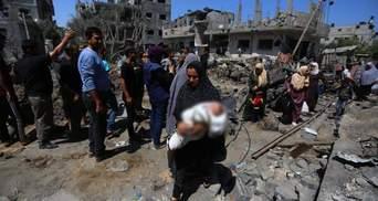 Наймолодшому 4 роки: внаслідок загострення між Ізраїлем і Сектором Гази загинули 42 дитини