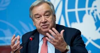 Генсек ООН відреагував на удар по редакціях ЗМІ в Секторі Гази