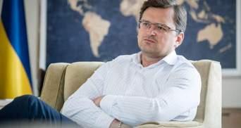 Москва продолжает играть игры с признанием боевиков, – Кулеба о минских договоренностях
