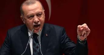 Ердоган закликав провчити Ізраїль через конфлікт з палестинцями