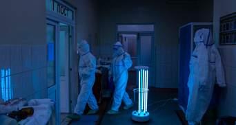 За сутки в Украине обнаружили более 4 тысяч больных коронавирусом