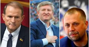 Медведчук звонил боевикам и просил не атаковать дом Ахметова