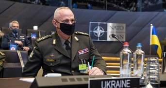 Россия до сих пор держит 80 тысяч военных у границы Украины, – Хомчак военным НАТО