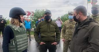 Донбас і Крим є Україною, – прем'єрка Естонії відвідала КПВВ на Сході