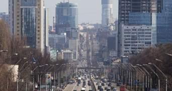 В Киеве назвали места, где воздух был самым грязным