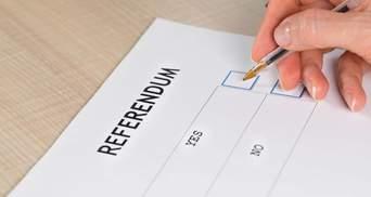 До Ради внесли законопроєкт про місцевий референдум: що він передбачає