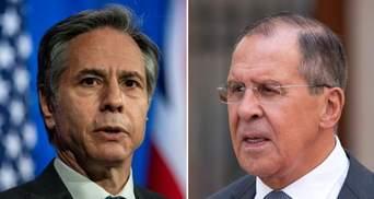 Напряжение на украинской границе и Нагорный Карабах: основные тезисы встречи Блинкена и Лаврова