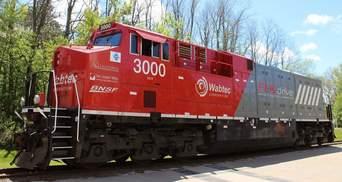 Перший у світі акумуляторний електричний локомотив скоротив споживання пального на 11%