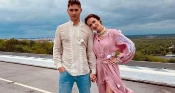 Владимир Остапчук и Кристина Горняк позировали в вышиванках: атмосферное фото