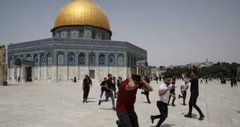 В первый день перемирия: на Храмовой горе в Израиле произошли беспорядки