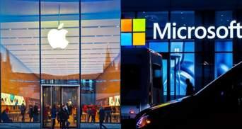 Apple підозрює, що Microsoft і Epic Games змовились проти неї в суді