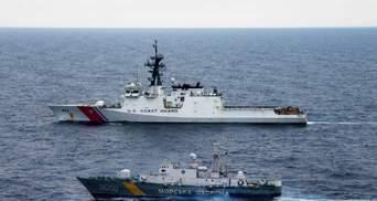 США поддерживают продолжение крепкого партнерства с Украиной на море