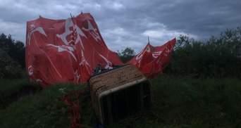 Повітряна куля впала на Хмельниччині: поліція розповіла про жертву та потерпілих