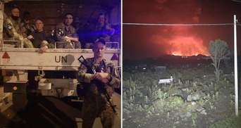 Українські миротворці перебувають неподалік вулкану, який прокинувся у Конго