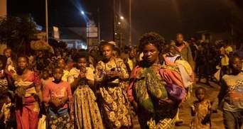 Через потужне виверження вулкану в Африці евакуйовують місто-мільйонник