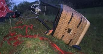 """Люди щосили кричали: """"Рятуйте"""", – очевидці про падіння повітряної кулі на Хмельниччині"""