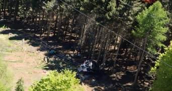 Трагедія на канатній дорозі в Італії: зросла кількість жертв