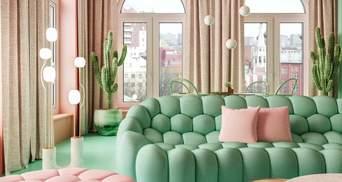 Кактуси та екзотичний інтер'єр: квартира у Нью-Йорку,  яка вражає оригінальністю