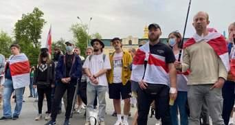 Затримання Протасевича у Мінську: кияни влаштували акцію на підтримку журналіста – фото