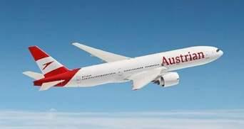 Білорусь оминули: Austrian Airlines виконали рейс Відень – Москва через Україну