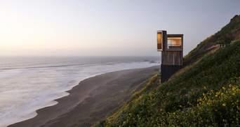 Над ущельем: сказочные домики для отдыха на побережье Чили