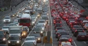 Утренние пробки в Киеве 26 мая: где затруднено движение – онлайн-карта