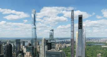 Стрибок у висоту: в Нью-Йорку Йорку завершується будівництво хмарочоса Central Park Tower