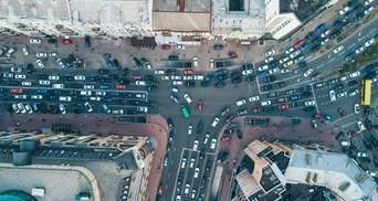 В Киеве – пробки: какова ситуация 27 мая на дорогах столицы