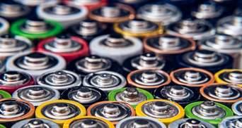 Украинский город отправит 100 килограммов батареек на переработку в Европу
