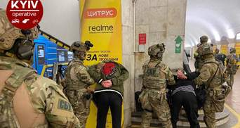 Взрыв и заложники: СБУ провела учения в метро Киева – фото, видео