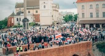В мире происходит глобальный пикет солидарности с Беларусью: фото