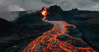 В Конго началось извержение еще одного вулкана: жуткое видео