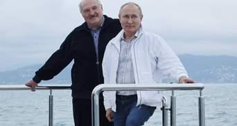 """Морська прогулянка Лукашенка та Путіна: рейси для """"Белавіа"""", пів мільярда позики"""