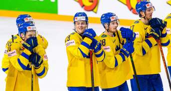ЧМ по хоккею-2021: Швеция продолжает борьбу, Финляндия вышла в плей-офф