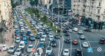 Киев утром 31 мая сковали пробки: онлайн-карта