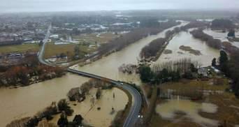 Новую Зеландию накрыло сильнейшее за 100 лет наводнение: фото, видео последствий стихии