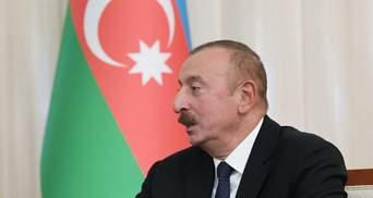 Алиев настаивает на строительстве коридора через территорию Армении