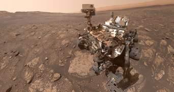 """Марсохід """"К'юріосіті"""" виявив сріблясті хмари: фото"""