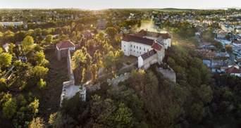 Ужгородський замок створив акаунт в TikTok: яким було перше відео