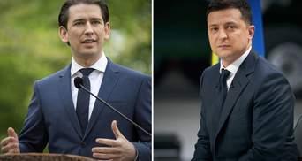 Зеленский обсудил с канцлером Австрии совместные проекты и пригласил его в Украину