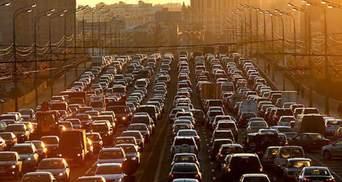 Киев утром 3 июня заполнили пробки: онлайн-карта