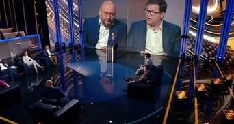 """""""Лицо до сих пор скучное"""": Добкин и Арьев поскандалили в прямом эфире"""
