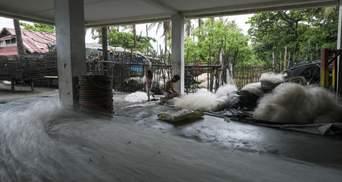 На Філіппіни обрушився потужний тропічний шторм: є жертви