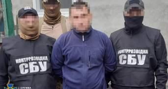 Прикривався статусом партнера ООН: СБУ затримала агента бойовиків