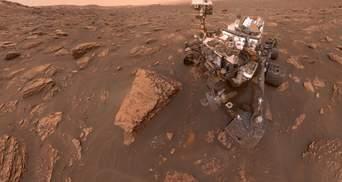 Чому на селфі марсоходів часто не видно самих марсоходів